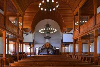 Interior of Dutch Reformed Church, Plein Street, Rustenburg, North West